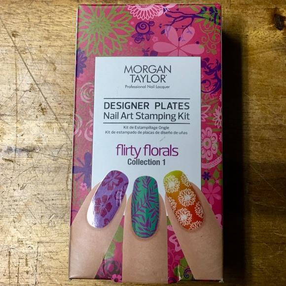 Morgan Taylor Nail Art Stamping Kit Bnwt | Poshmark